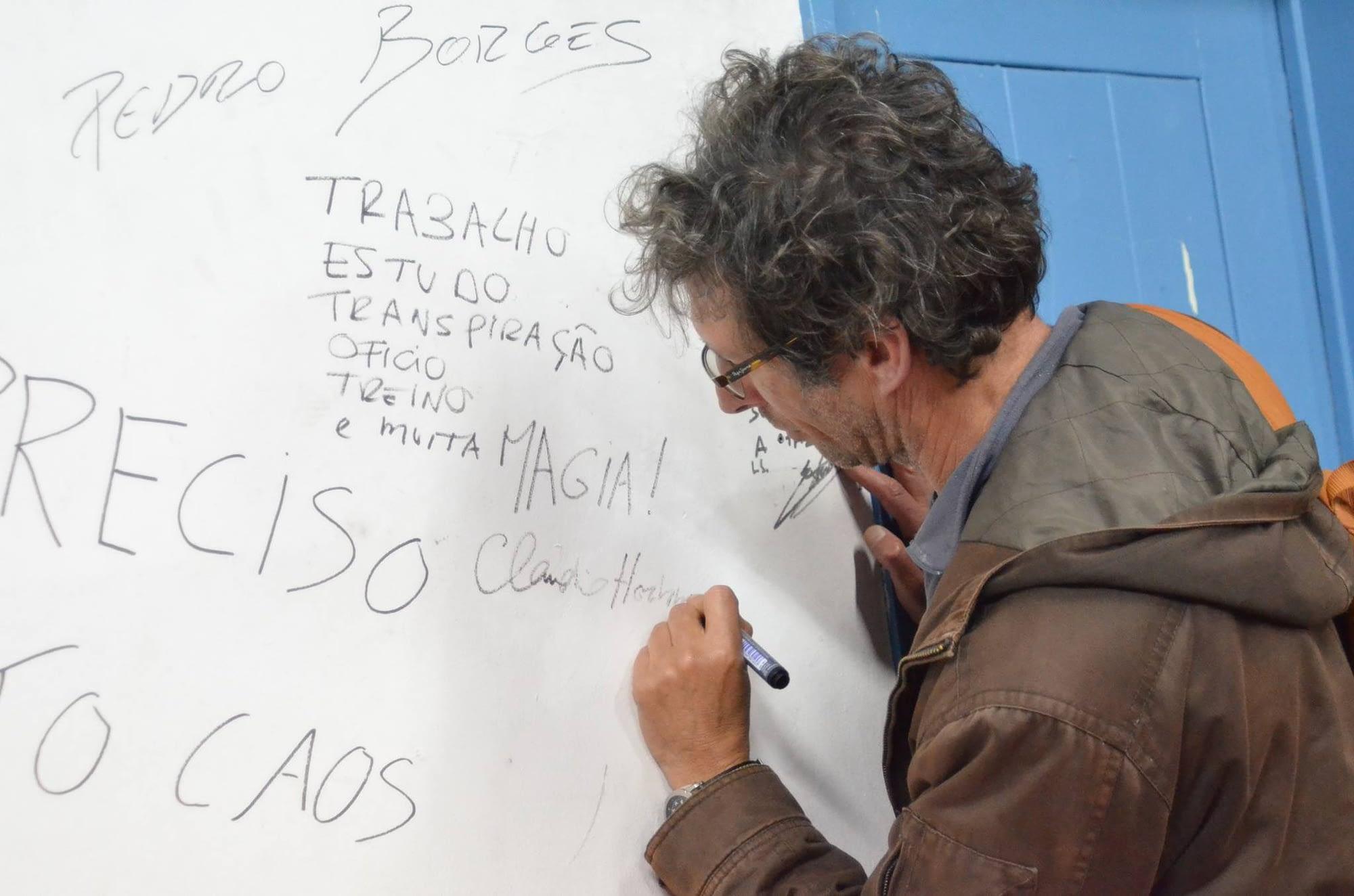 """""""À Conversa com…"""" Cláudio Hochman"""